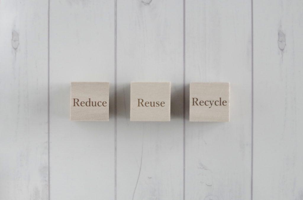 リデュース,リユース,リサイクル