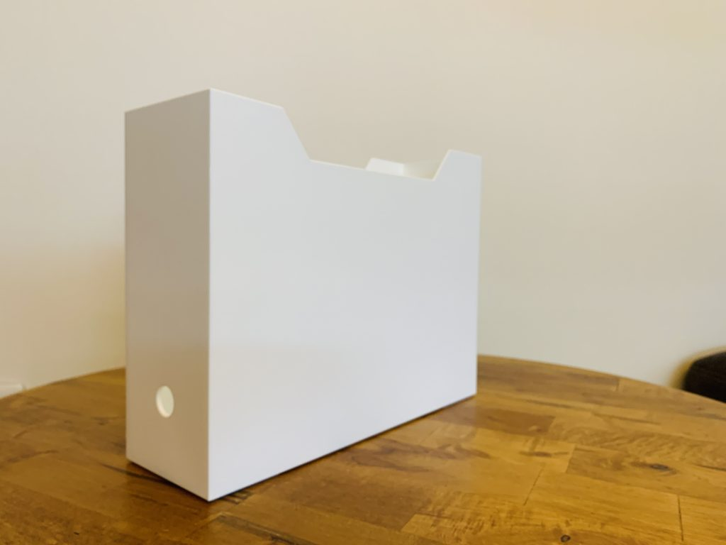 ニトリのファイルボックス