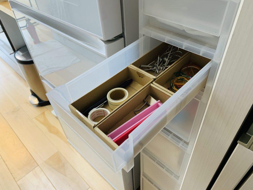キッチン小物の引出し収納