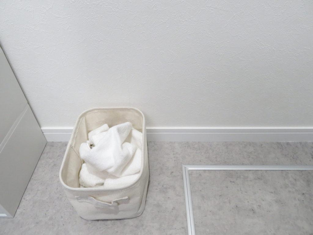 「洗濯機からたたまずポイ!」の家事ラク収納_2