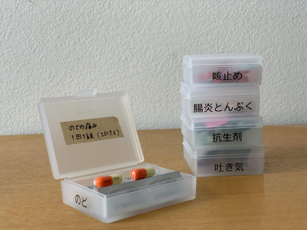 内服薬はキッチンの近くに収納。_2