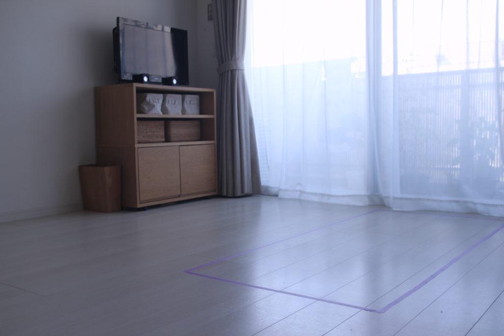 ソファーのサイズの検討