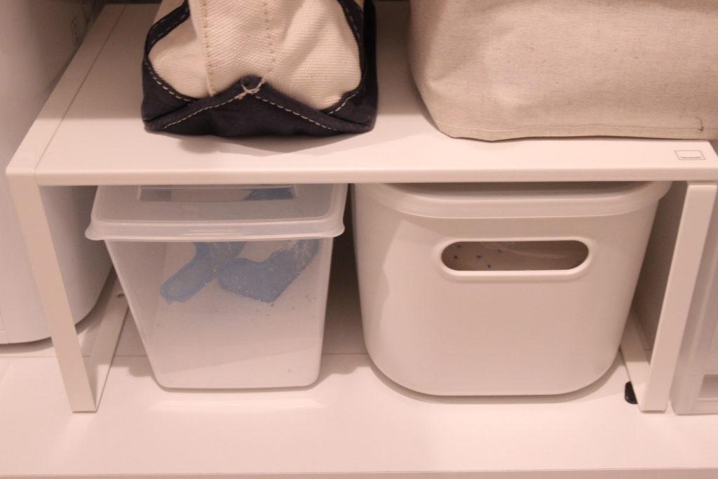 100円均一で洗面台下収納