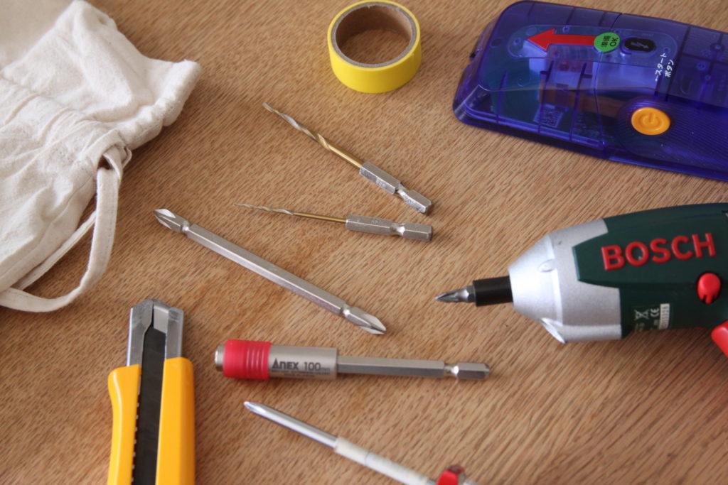 DIYの準備と道具