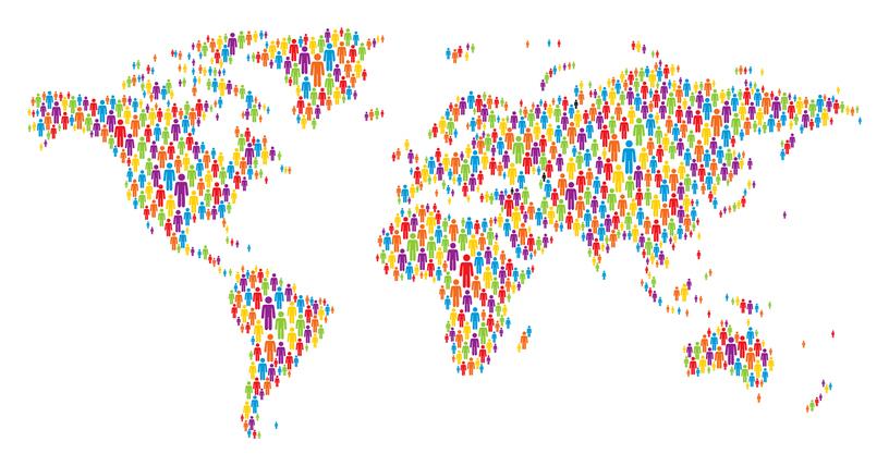 世界全体では人口が増え続けています