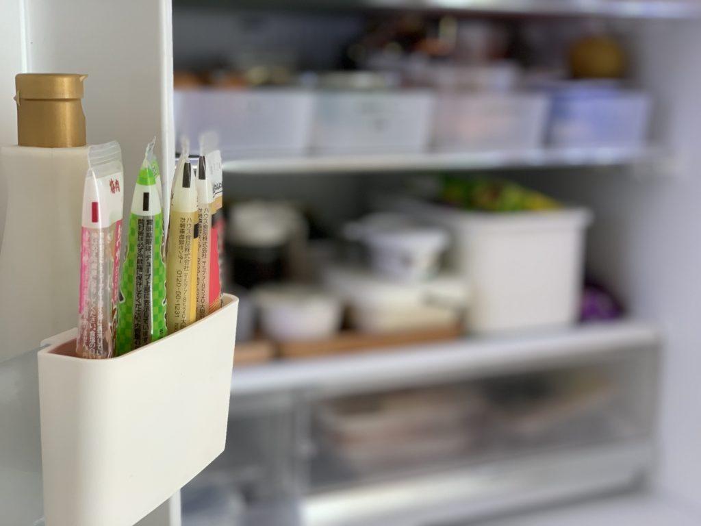 100均冷蔵庫収納グッズ