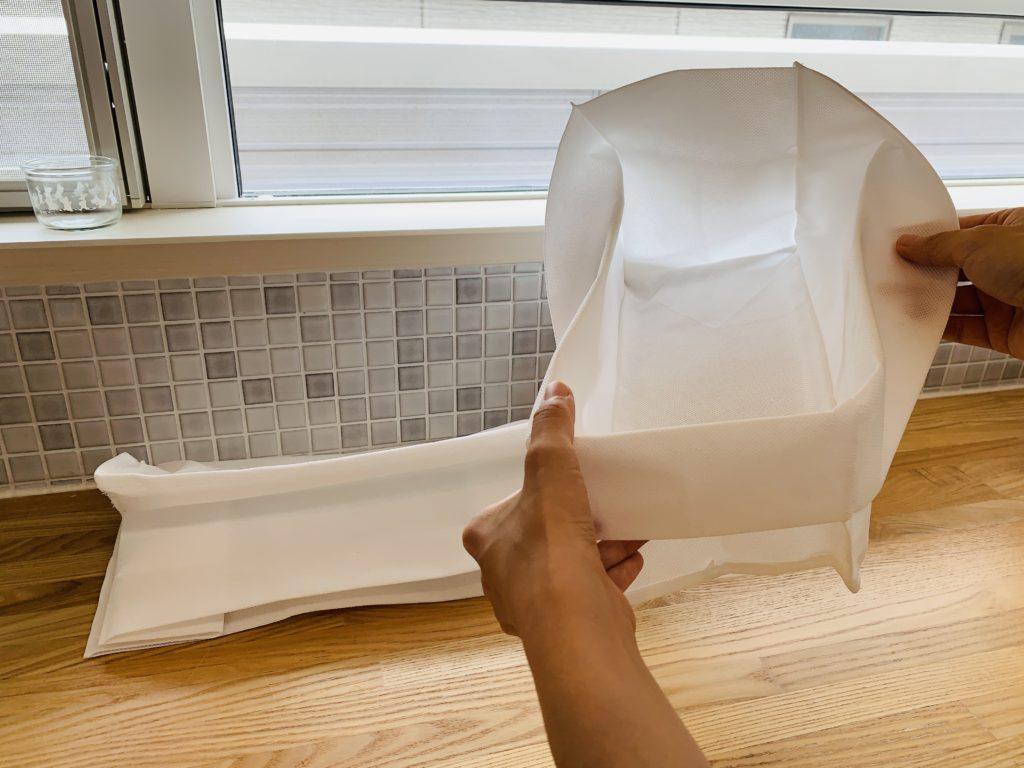 不織布のボックス