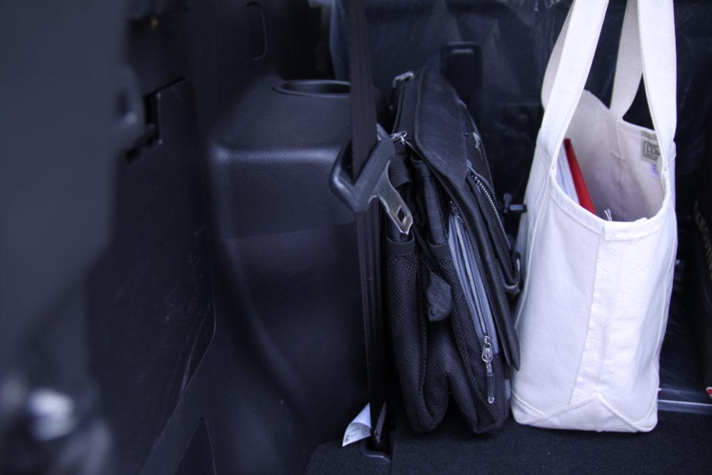 トランクの収納,折りたたみ保冷バッグ