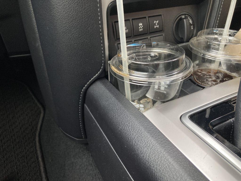 車内の整理収納
