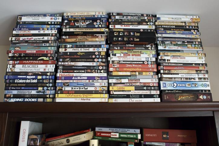 DVDの整理