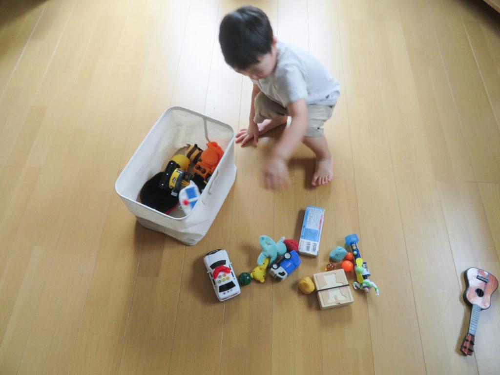 おもちゃ整理